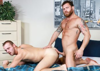 "Pride Studios: Chandler Scott bottoms for Riley Mitchel in ""Big Morning Boner"""