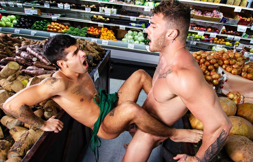 "Men.com: William Seed fucks Ty Mitchell in ""Clean Up On Aisle 69"""