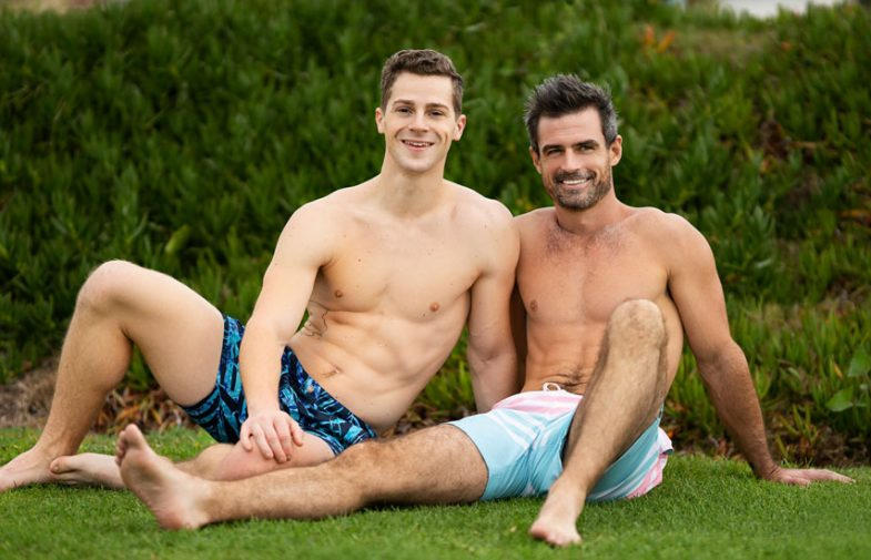 Sean Cody: Daniel rims Robbie's ass and fills him up with his raw cock