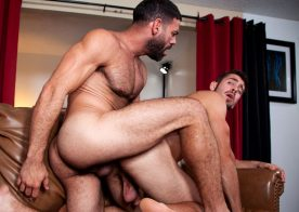 "Raging Stallion: Ricky Larkin and Dante Colle flip-fuck in ""Get A Room"" (scene 1)"
