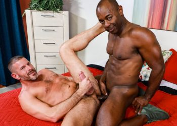 "Pride Studios: Clay Towers bottoms for Aaron Trainer in ""Give Me That Big Dick"""