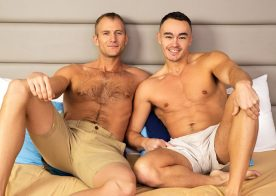 Sean Cody: Blake bottoms for Jayce and swallows his fresh load