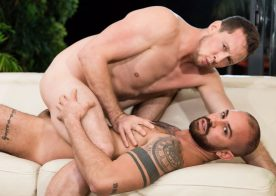 """Masqulin: Bruno Max and Pierce Paris fuck each other in """"New Year's Swipe"""""""