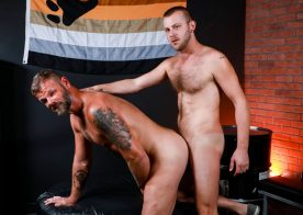"Pride Studios: Chandler Scott barebacks Bubba Dip in ""Otter Fuck"""