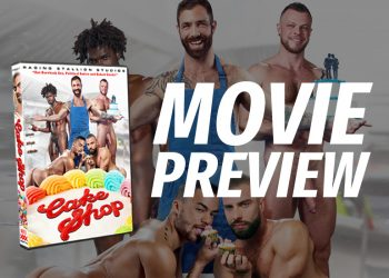 "Movie Preview: A First Look at Raging Stallion's ""Cake Shop"""