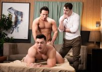 """Reese Rideout is back and fucks Collin Simpson in """"Dr. Wood"""" (scene 1) from Men.com"""