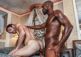 """Lucas Entertainment: Andre Donovan destroys Max Adonis' ass in """"Extreme Assplay"""" (sc 1)"""