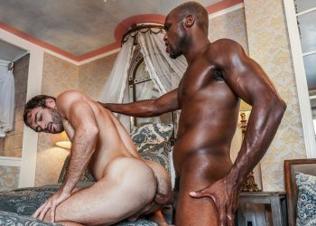 "Lucas Entertainment: Andre Donovan destroys Max Adonis' ass in ""Extreme Assplay"" (sc 1)"
