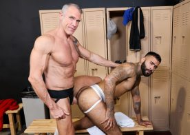 "Pride Studios: Daddy Dallas Steele pounds Rikk York in ""Jock Strap Fuckers"""