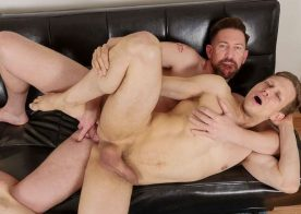 Bareback That Hole: AJ Malone fills Ethan Chase up with raw meat