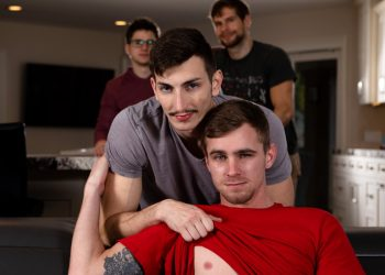 "Next Door Studios: Michael Jackman bottoms for Ryan Jordan in ""Boyfriend Swap"" (scene 1)"