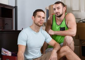 "Next Door Taboo: David Skylar fucks his step-brother Johnny B in ""Dad's Package"""