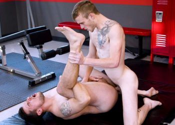 "Next Door Studios: Princeton Price and Scott Finn flip-fuck in ""Gym Rats"""