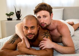 "Icon Male: Julian Grey and Drew Dixon fuck each other in ""Rubdown"" (scene 1)"