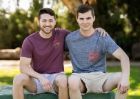 Sean Cody: Levi uses his tongue and raw dick to please Lane's hole