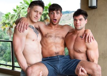 "Next Door Studios: Dalton Riley and Aspen fuck Elliot Finn in ""My Boyfriend's Step Brother"""