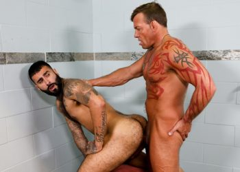 "Pride Studios: Tristan Brazer fucks Rikk York in ""Taboo Shower Fuckers"""