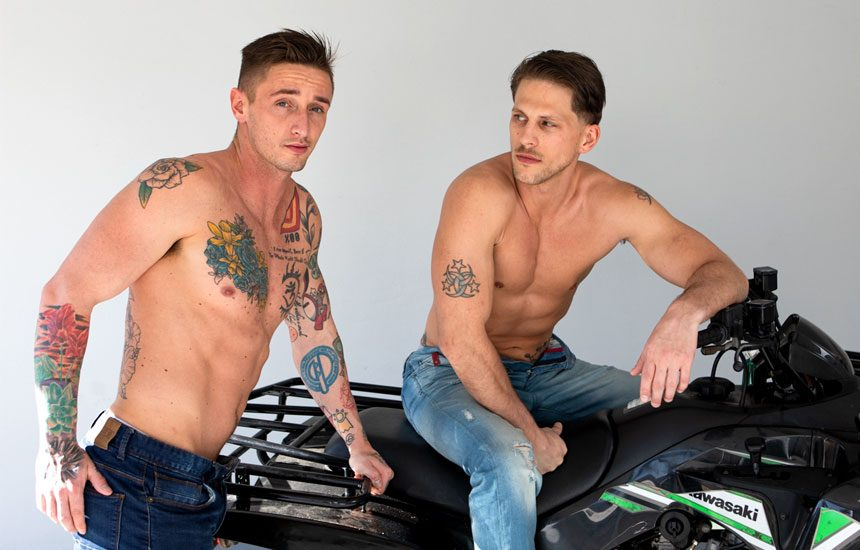 "Next Door Taboo: Lance Ford and Roman Todd in ""Teaching My Step Brother How To Ride"""