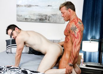 "Pride Studios: Angel Ventura gets fucked by Tristan Brazer in ""Tighty Whities Tease"""