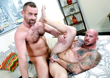 "Pride Studios: Jacob Woods and Sean Duran flip-fuck in ""Waiting For Cock"""