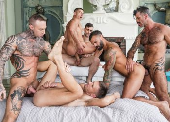 "Lucas Entertainment: ""Ass-Hammering Hardware"" Fire Island Orgy (part 2)"