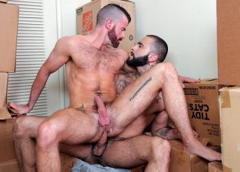 "Manalized: Rikk York raw-fucks Brendan Patrick in ""Cumslut Rumble"""