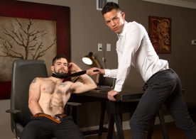 "Next Door Studios: Julian Brady gets fucked by Nic Sahara in ""The Eager Interviewee"""