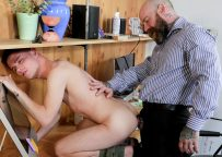 """Family Dick: Jack Dixon fucks Dylan Hayes in """"Bring Your Son To Work Day"""""""