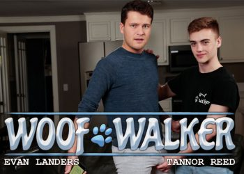 "Next Door Studios: Evan Landers fucks cute dog walker Tannor Reed in ""Woof Walker"""