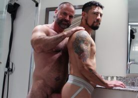 "Manalized: Cory Koons gets fucked by daddy Bishop Angus in ""Spring Cleaner"""