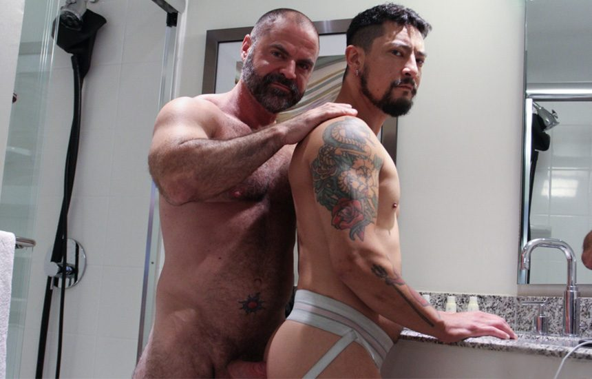 """Manalized: Cory Koons gets fucked by daddy Bishop Angus in """"Spring Cleaner"""""""
