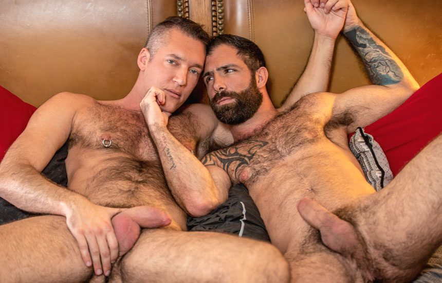 "Silver Steele debuts at Icon Male and gets fucked by Jake Nicola in ""Keep It Hairy"""