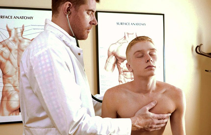 """Fun-Size Boys: Legrand Wolf fucks Caleb Anthony's tight hole in """"Dr. Wolf's Office"""""""