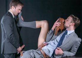 "Gabriel Clark debuts at Men At Play and fucks Drew Dixon in ""The Lewd Detective"""