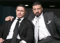 """Men At Play: Marco Napoli gets fucked by Dato Foland in """"Job Security"""""""