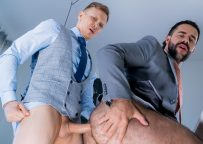 """Ethan Chase debuts at Men At Play and flip-fucks with Teddy Torres in """"Personal Driver"""""""