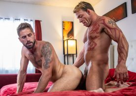 "Icon Male: Tristan Brazer fucks Wesley Woods in ""Putting On A Show"""