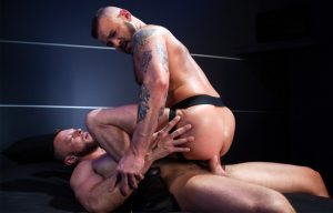 "Raging Stallion: Sean Harding gets fucked by Wade Wolfgar in ""Cock Hunter"" (scene 4)"