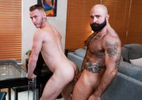 "Pride Studios: Mac Savage takes Atlas Grant's raw daddy dick in ""The Chaser"""