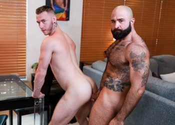 """Pride Studios: Mac Savage takes Atlas Grant's raw daddy dick in """"The Chaser"""""""