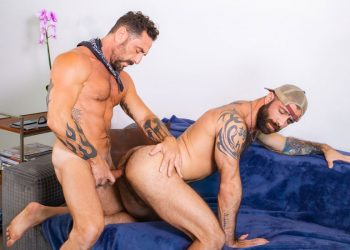 "Masqulin: Vince Parker raw-fucks Jake Nicola in ""Anonymous Catfish"""