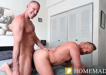 "Pride Studios: Jacob Woods and Clay Towers fuck each other in ""Flip-Flop Lovers"""