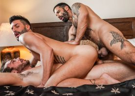 "Edji Da Silva, Max Adonis and Andrea Suarez fuck in ""Fucked 2 The Max"" (scene 4)"