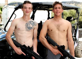 Active Duty: Jason Long is back for his 2nd scene and fucks Scott Finn (again)