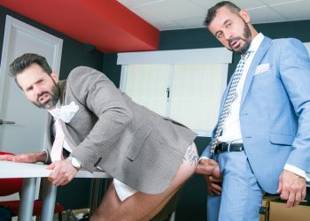 "Men At Play: Thomas Thunder raw-fucks Dani Robles in ""Office Voyeur"""
