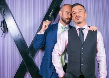 "Men At Play: Bruno Max and Jonathan Miranda fuck each other in ""Sex Games"""