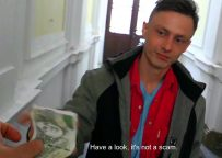 Czech Hunter #531: A Cute Guy with a Boner is ready to make some Cash