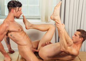 CockyBoys: Benjamin Blue can't get enough of Drew Dixon's raw cock