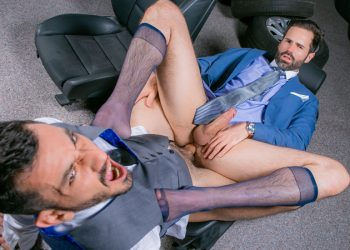 "Joe Gillis debuts at Men At Play and raw-fucks Dani Robles in ""Extra Parts"""