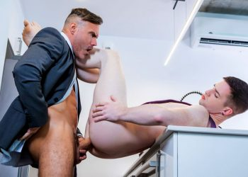 "Men At Play: Thyle Knoxx takes Manuel Skye's big daddy dick in ""Boylust 2"""
